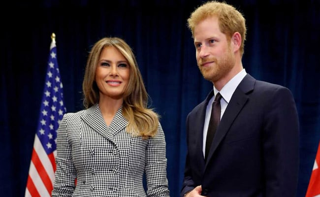 Melania In Attendance, Prince Harry Opens Games For Wounded War Veterans