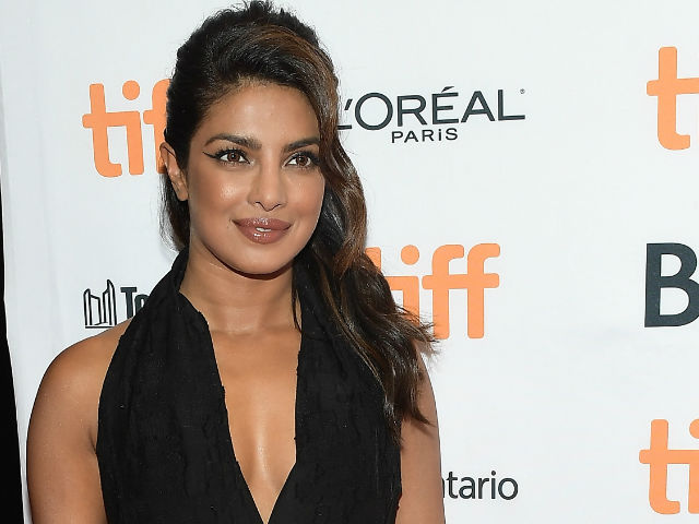 Priyanka Chopra went for dramatic winged liner at TIFF