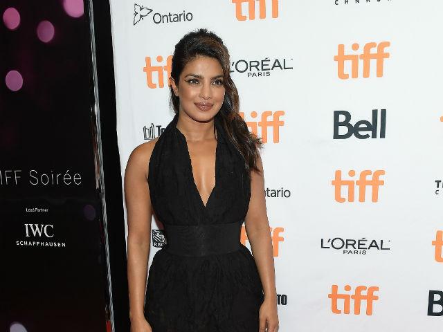 Priyanka Chopra Walks The Red Carpet At The Toronto International Film Festival Soiree