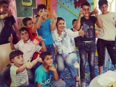 Priyanka Chopra's 'Lame Attempt' At Rugby, Cartwheel With Jordan Kids. She's Excused