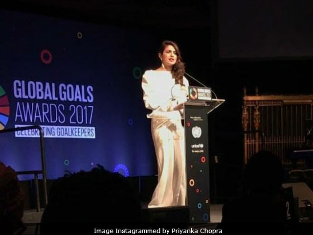 Image result for Priyanka Chopra wants to empower, educate and create opportunities for girls