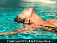 LA पहुंचकर स्वीमिंग पूल में कुछ ऐसे रिलैक्स कर रही हैं प्रियंका चोपड़ा