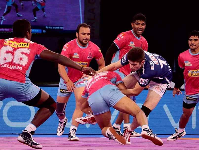 Pro Kabaddi League: Jaipur Pink Panthers Defeat Dabang Delhi 36-25