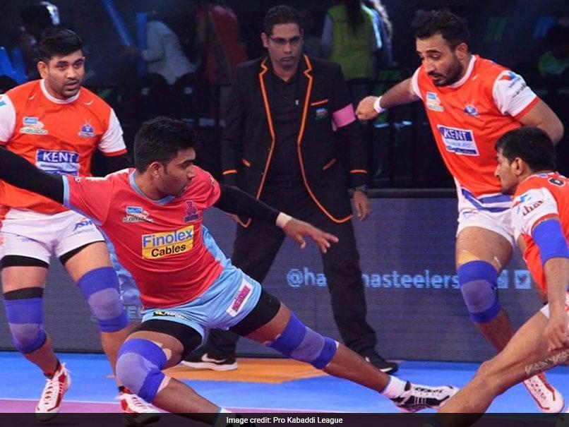 Pro Kabaddi League: Haryana Steelers Beat Jaipur Pink Panthers 30-26