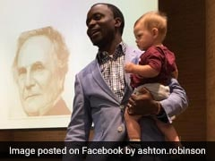 Professor Holds Student's Child During Class So She Doesn't Miss Lecture