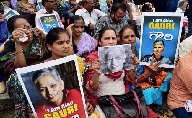 Months After Gauri Lankesh Murder, Investigation Team Files First Charge Sheet