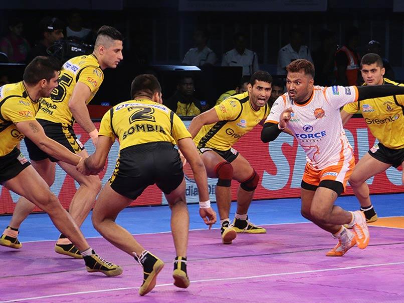 Pro Kabaddi League: Puneri Paltan Beat Telugu Titans 42-37