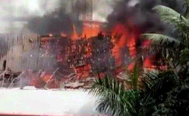 Fire Breaks Out At Rk Studio In Mumbai S Chembur