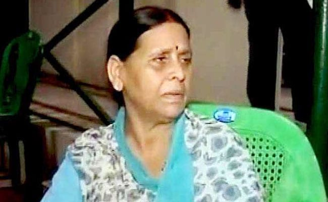 'Political Vendetta', Says RJD As Rabri Devi Grilled In Corruption Case