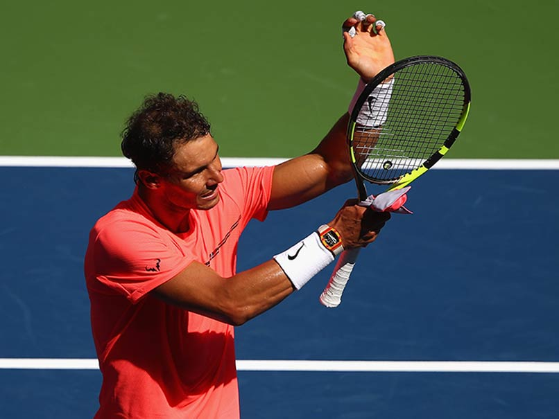 Nadal admits to being stressed during Mayer win