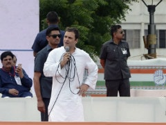 In 'Dialogue' With Party Workers, Rahul Gandhi Targets PM Modi