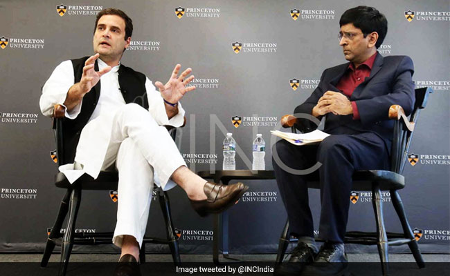 Unemployment The Reason Why PM Modi, Donald Trump Were Voted To Power: Rahul Gandhi