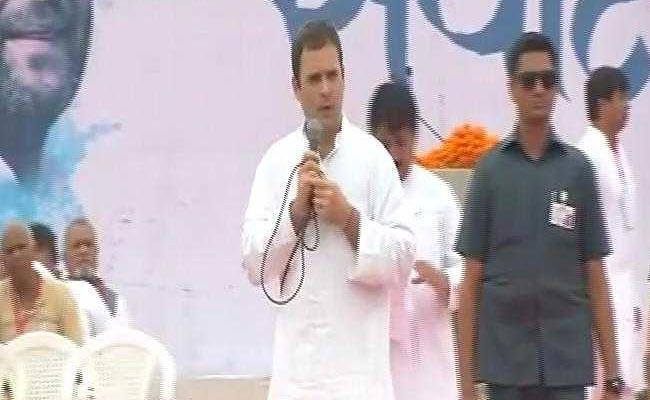 गुजरात चुनाव के लिए राहुल गांधी ने फूंका चुनावी बिगुल, तय किया मिशन 125+