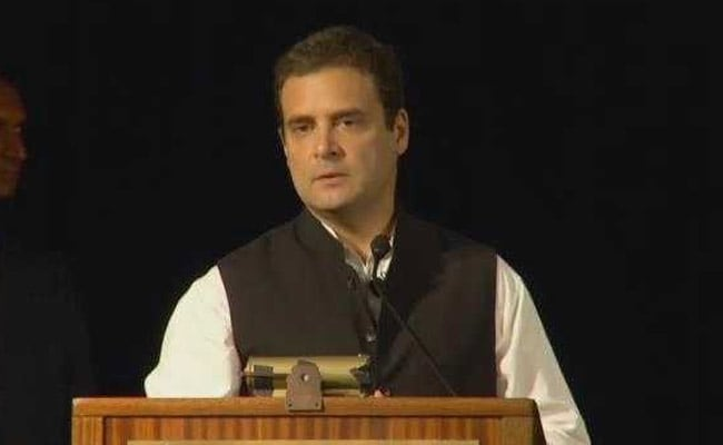 At Berkeley, Rahul Gandhi Attacks PM Modi Over GST, Notes Ban: Highlights