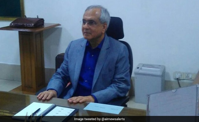Noted Economist Rajiv Kumar Takes Charge As NITI Aayog Vice-Chairman