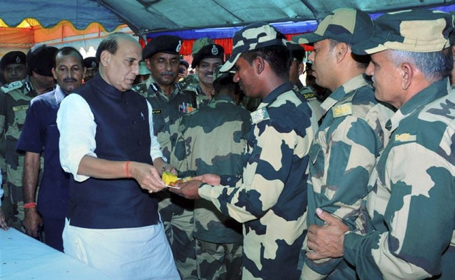 Pakistan Will Be Forced To Stop Cross-Border Firing, Says Rajnath Singh