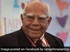 An Eminent Lawyer, Ram Jethmalani's Political Life Had Many Flavours
