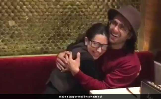 OMG! गोविंदा नहीं रणवीर सिंह के साथ करिश्मा कपूर कर रही हैं 'सरकाय लेयो खटिया...'
