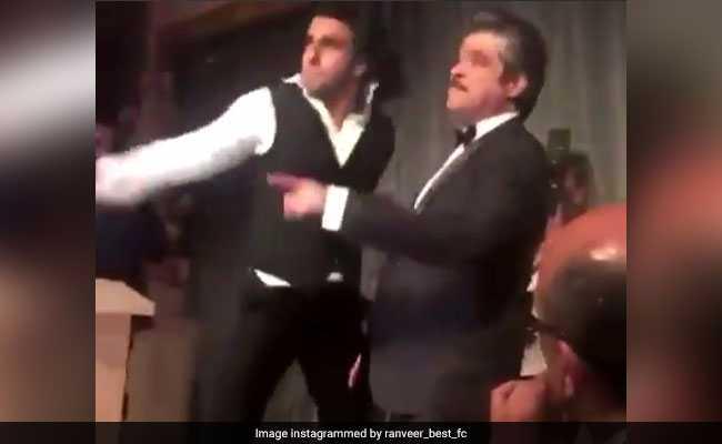 सामने आया अनिल कपूर और रणवीर सिंह का झक्कास VIDEO, 'माय नेम इज लखन' पर लगाए ठुमके