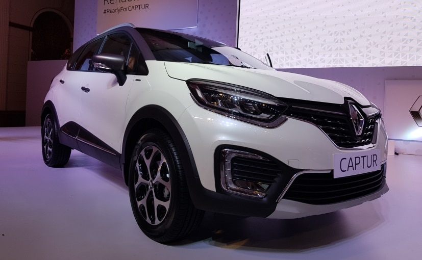 Renault Captur Unveiled In India, Launch Next Month