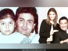 On Rishi Kapoor's Birthday, A Beautiful Message From Daughter Riddhima