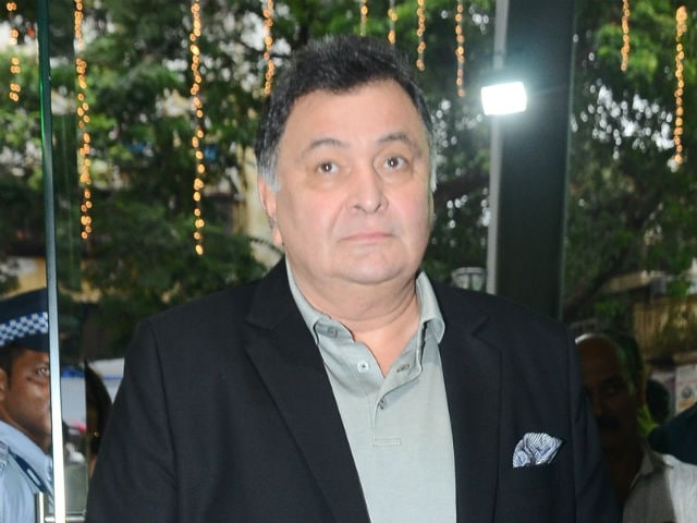 Rishi Kapoor Says He's 'No Saint' After Backlash Over Abusive Tweet To Woman