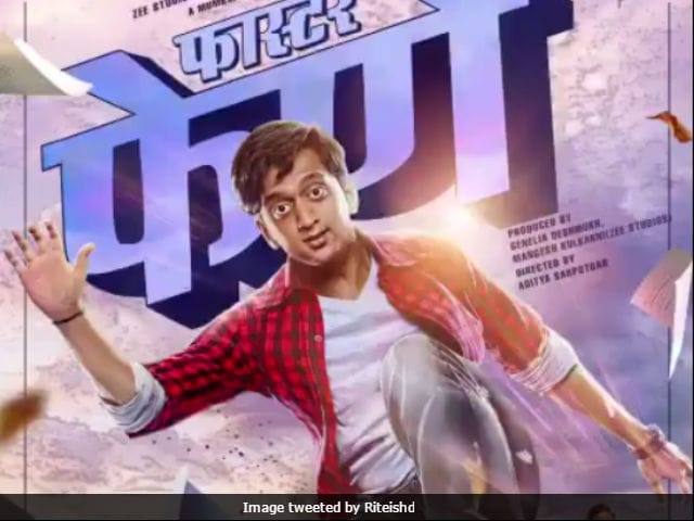 Riteish Deshmukh's Faster Fene Motion Poster Gets Celebrity Love