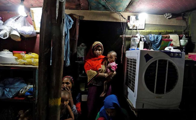 rohingya muslim refugee delhi india reuters