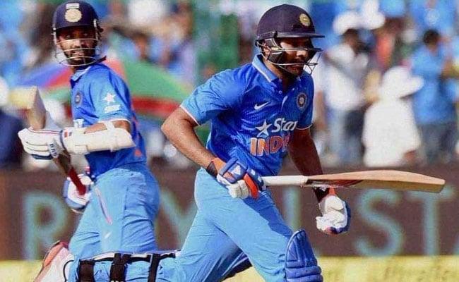 INDvAUS: रोहित शर्मा और अजिंक्य रहाणे ने की भारतीय पारी की शुरुआत, 335 रन का लक्ष्य