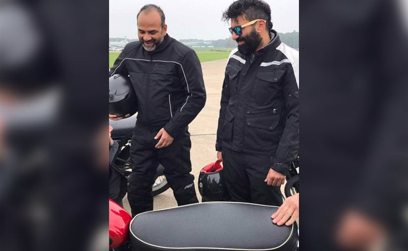 Royal Enfield 750 cc Motorcycles Teased In Tweet