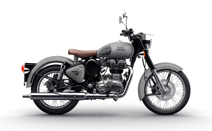 Royal Enfield saw a slump in production of 25,000 motorcycles in September-October