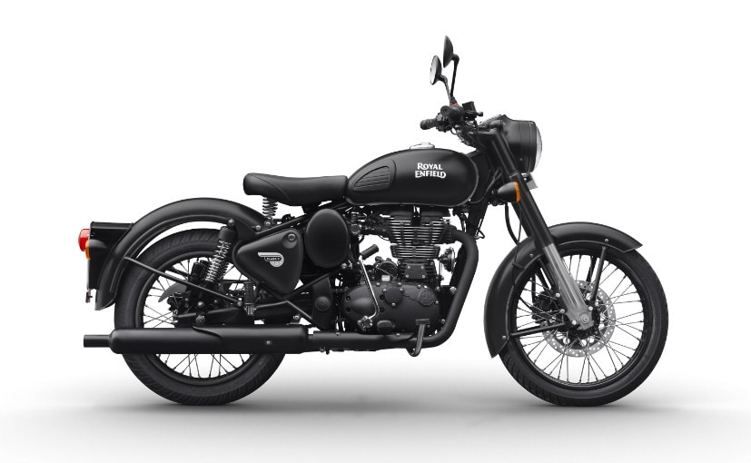 The Classic Signals 350 is the first Royal Enfield bike to get dual-channel ABS as standard