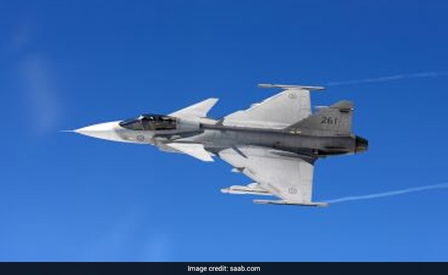 Saab teams up with Adani group to build fighter jets in India
