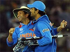 Sachin Tendulkar's Message For MS Dhoni Sends Fans Into A Tizzy