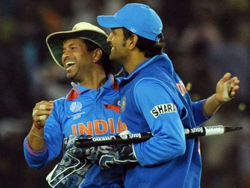 Sachin Tendulkars Message For MS Dhoni Sends Fans Into A Tizzy