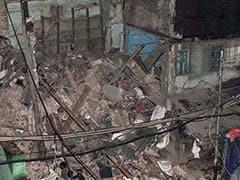 Building Collapse In North Delhi's Sadar Bazar