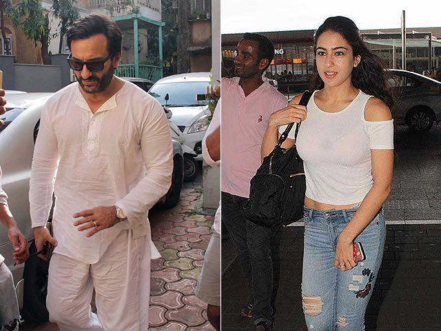 What Worries Sara Ali Khan's Dad Saif Most About Her Impending Stardom