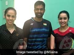 Saina Nehwal, Pullela Gopichand Give Badminton Lessons To Shraddha Kapoor For Biopic