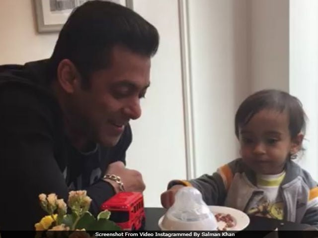 Salman Khan Is In London With Nephew Ahil. And Their Breakfast Date Is Just So Cute
