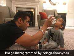 शादी का तो पता नहीं, लेकिन बच्चों को दूध पिलाने के मामले में नंबर वन हैं सलमान खान!