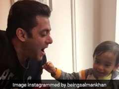 Video: सलमान खान के भांजे ने की ऐसी हरकत कि ठहाका लगा कर हंस पड़े 'भाईजान'