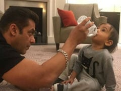 Salman Khan's Picture With Nephew Ahil Will Melt Your Heart