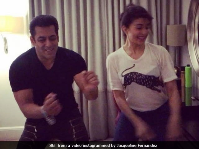 Salman Khan, Jacqueline Fernandez groove to Tan Tana Tan in UK