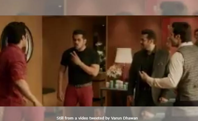 Revealed! Salman Khan's Cameo In Varun Dhawan's Judwaa 2