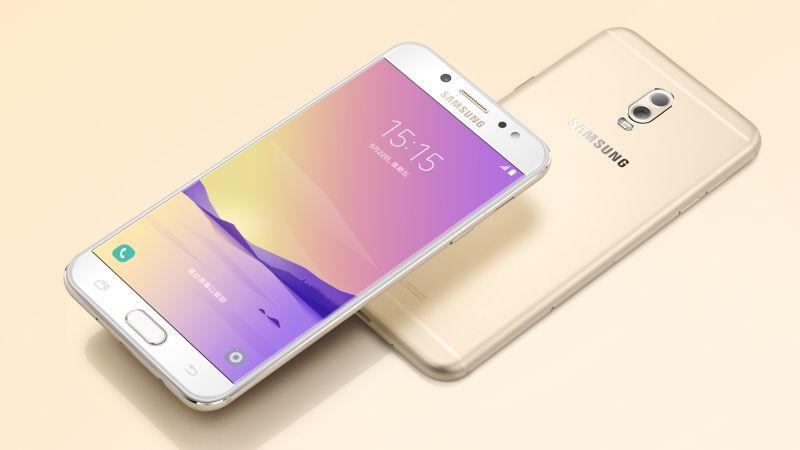 Samsung Galaxy C8 लॉन्च, इसमें हैं दो रियर कैमरे और 16 मेगापिक्सल का फ्रंट कैमरा