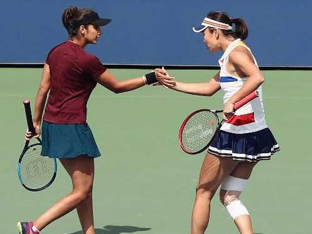US Open: Sania Mirza, Shuai Peng Enter Womens Doubles Semi-Finals