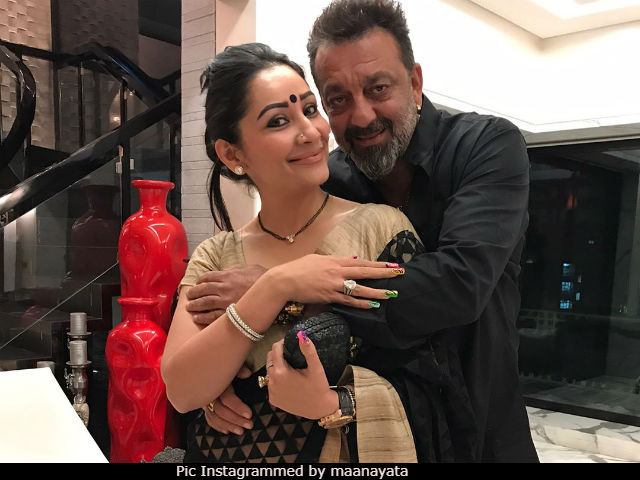 Sanjay Dutt Has 'Many Shoes' Which Often Come Handy For Maanyata