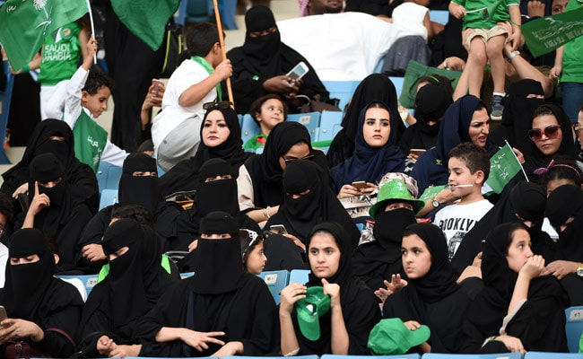 On Saudi National Day, A 'Historic' First At Male-Only Sports Stadium