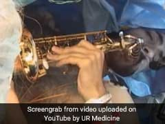 Watch: Patient Plays Saxophone As Surgeons Remove Brain Tumour