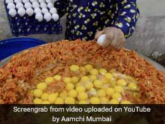 Watch: India's Biggest Scrambled Egg Made With 240 Eggs